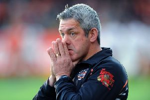 FRUSTRATED: Castleford Tigers' coach Daryl Powell.'Picture : Jonathan Gawthorpe