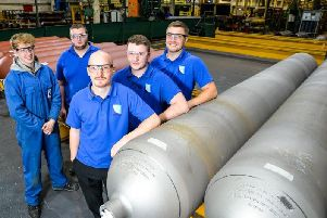 Pressure Tech makes specialist cylinders for hydrogen refuelling stations and other uses