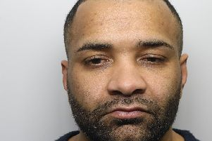 Glen Samson, 40, has been given a life sentence for multiple counts of rape, false imprisonment and threats to kill. Photo: West Yorkshire Police.