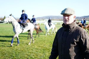 Ireland's champion jumps trainer Willie Mullins saddles Stratum in the Northumberland Plate today.