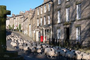 Askrigg was the fictional village of Darrowby in the original BBC series