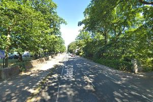 A 12-year-old cyclist has been hit by a coach on Oatlands Drive. Photo: Google.