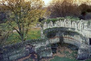 The Multangular Tower is the remains of a fortress on the Roman city walls