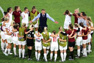 Phil Neville rallies the Lionesses after their World Cup semi-final defeat.