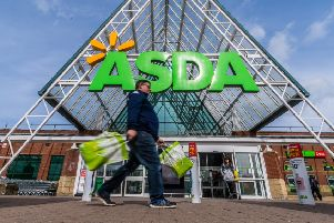 Pictured Shane Walker, of Leeds, shopping at Asda, Owlcotes, Leeds.