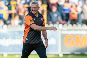 Coach Daryl Powell before Castleford Tigers'  derby loss to Leeds Rhinos. 'Picture Bruce Rollinson