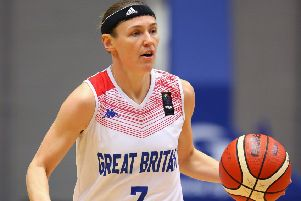 Rachael Vanderwal: Scored 11 points for GB women in the bronze-medal defeat to Serbia. (Picture: Getty Images)