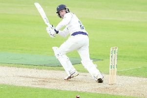 Harry Brook top-scored for Yorkshire on day one at Chelmsford. Picture: Ash Allen/SWpix.com