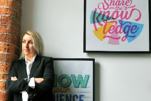 Anna Sutton, co-founder and CEO of The Data Shed in Leeds.