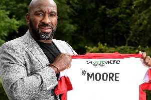 New Doncaster Rovers manager Darren Moore