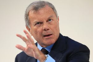 Founder Sir Martin Sorrell left WPP last year. Pic: Jonathan Brady/PA Wire