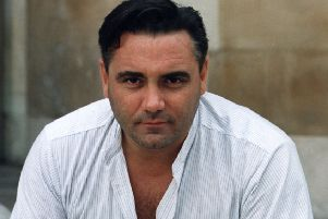 Tony Slattery in his younger days. (PA).