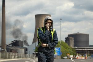 Workers leave the steelworks plant in Scunthorpe following a shift change as owner British Steel is to go into official recievership after failing to secure funds for its future. PRESS ASSOCIATION Photo. Picture date: Wednesday May 22, 2019. More than 150,000 UK steel jobs have been lost since the 1980s, according to a new study. In 1981 the industry employed 186,000 workers but the total has now slumped to around 32,000, said the GMB union. See PA story INDUSTRY Steel. Photo credit should read: Danny Lawson/PA Wire