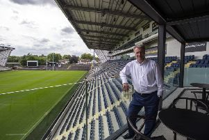 Leeds Rhinos chief exec Gary Hetherington. at the new Facilities in the �43m new stand at The Emerald Stadium, Headingley.' (Picture: Bruce Rollinson)