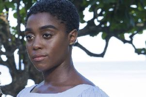 The rumour that black actress Lashana Lynch could be the next 007, was treated with disbelief by some. (AP Photo/Leo Hudson)