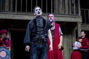 The Tempest at Shakespeare's Rose Theatre in York. Picture by Charlotte Graham - CAG Photography.