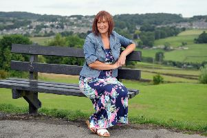 Breast cancer survivor Julia Sunderland from near Haworth speaks out about the impact of mastectomy on women's confidence. Picture Tony Johnson