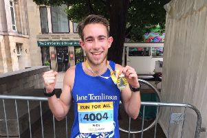 Runner who broke his leg is back on the road thanks to op in Leeds