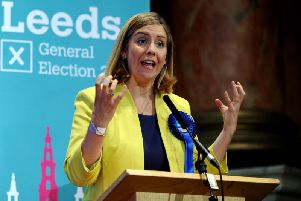 Andrea Jenkyns retained her Morley and Outwood seat at the 2017 election.