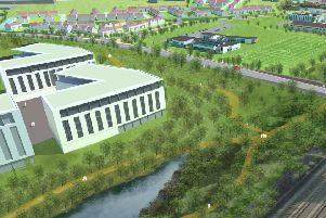 Unity will include 3,100 new homes, a marina, school, transport hub and nearly 200 acres of open spaces.