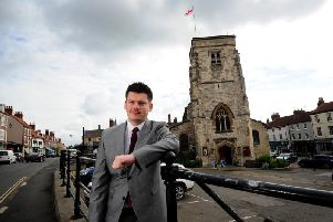Keane Duncan, the leader of Ryedale council, is the youngest leader of any local authority in the country
