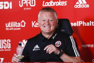 Ready for action: Sheffield United manager Chris Wilder. Picture: Simon Bellis/Sportimage