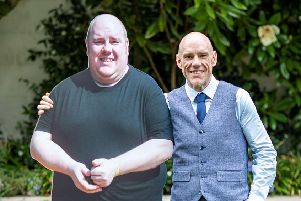 Ben Muscroft who lost 15st 8lbs and is named Slimming World's Man of the Year 2019. PRESS ASSOCIATION Slimming World/PA Wire