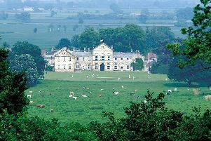Hovingham Hall is the Ryedale seat of the Worsley family