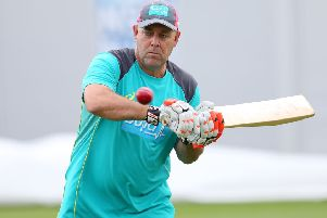 On the way back: Darren Lehmann. Picture: Getty Images
