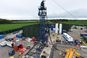 Earth tremors have been recorded at energy firm Cuadrilla's fracking site near Blackpool.