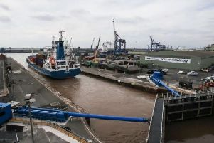 A no-deal Brexit could hit the Humber ports.