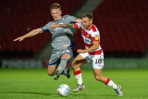Doncaster Rovers' Jon Taylor.