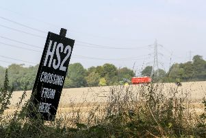 HS2 is already under construction, amid huge controversy