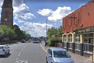 An elderly couple travelling in a mobility car were seriously injured when Mohammed Sultar hit them head-on before crashing into Penny Hill pub, Hunslet, during police chase.
