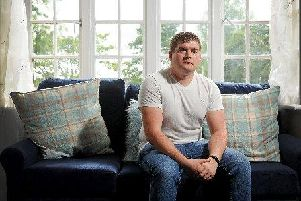 Soldier Marc Haigh speaks about his personal battle with survivor's guilt after his twin brother contracted meningitis at birth. Image: Tony Johnson.