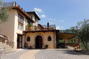 The Casale San Pietro, a luxury bed and breakfast.