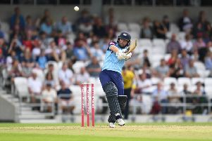 AIMING HIGH: Yorkshire's Adam Lyth wants to play under club legend Darren Lehmann in The Hundred next season. Picture: Anna Gowthorpe/SWpix.com