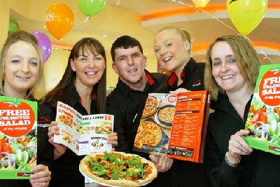Pizza The Action Hits Cleveleys Blackpool Gazette