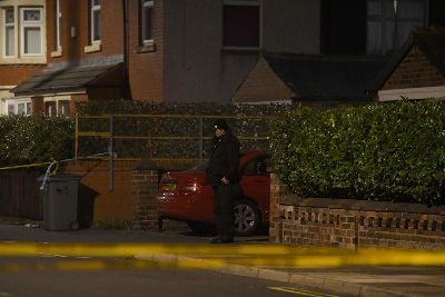 Woman found dead in Blackpool: Police helicopter out with
