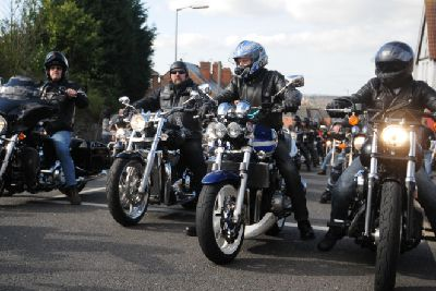 Ashfield: Bikers out in force for funeral of Hells Angel