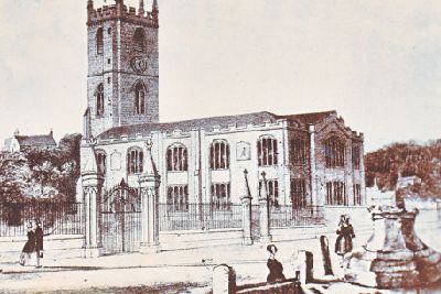 St Peter's Church: the greatest link with Burnley's past