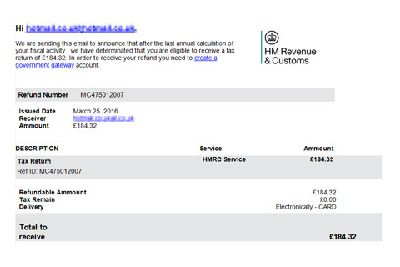 Fraudsters send out fake HMRC and PayPal emails - Clitheroe