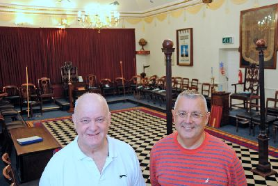 Chesterfield Freemasons to open their doors to you in a bid