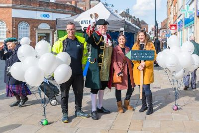 Farmers Market was a success in its new Gainsborough