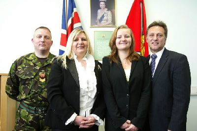 An Army life for MP's girl - Halifax Courier