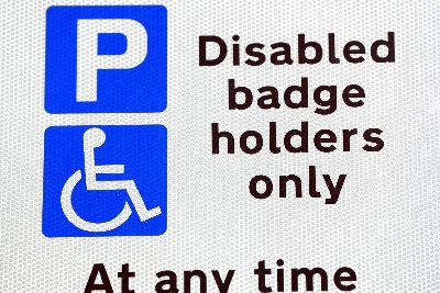 Number of Calderdale people with disability parking badges