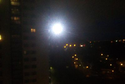 Here's why there was a mysterious bright light above Halifax