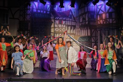 Behind the scenes at Lancaster Grand's pantomime - Lancaster