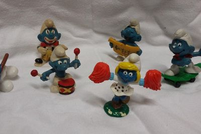 Beat the winter blues with this impressive Smurfs collection