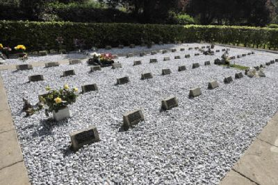 Baby cemetery 'made to look like a car park' - The